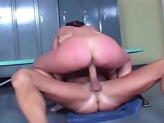 Curvy huge ass and tits chick hard horny fucking tube porn video