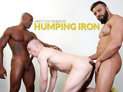 Osiris Blade & Caleb King & Damian Flexxx in Humping Iron XXX Video - NextdoorEbony tube porn video