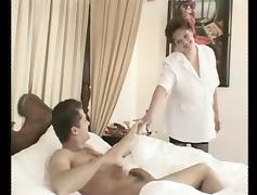 Big Boobs Milf Stepmom Gets A Big Surprise in tube porn video