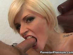 Joslyn James Ball Busting and Feet Licking - PornstarPlatinum tube porn video