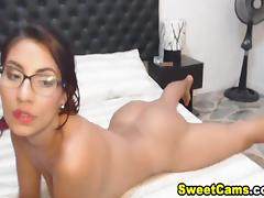 Horny Nerd Babe Got Her Ass Banged by Her Partner tube porn video