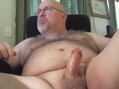 Beefy hairy dad masturbation tube porn video