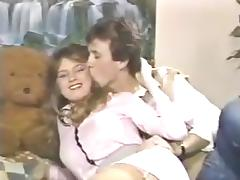 80s Girl gets birthday spanks before hot 69 and sex tube porn video