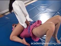 Nude Erotic Wrestling Videos on Academy Wrestling tube porn video