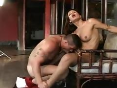 Beautiful Shemale Fucked in Ass tube porn video