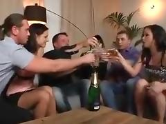 Swingers group birthday tube porn video