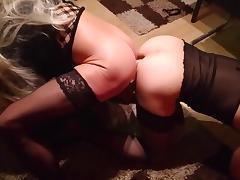 A couple of crossdressers tube porn video