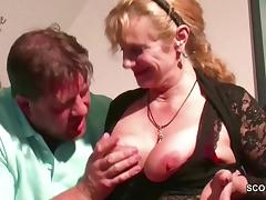 German Big Tit Step-Mom Want His Monster Cock to Fuck tube porn video