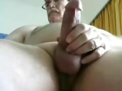 Grandpa long stroke tube porn video