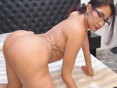 Horny Nerd Babe Got Her Ass Banged tube porn video