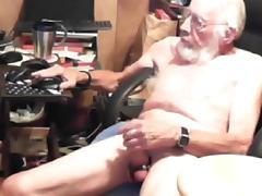 Grandpa cum on cam 4 tube porn video
