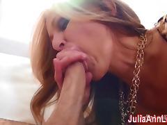 Busty Milf Julia Ann Gets Tits Covered in Cum! tube porn video