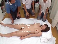 Foxy Asian sweetheart Yuma loves riding on massive rods tube porn video