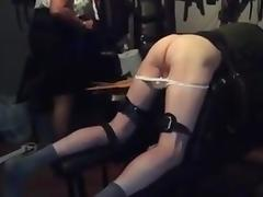 A long hard caning tube porn video