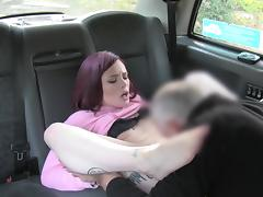 FAKETAXI - RED HEAD GETS FUCKED HARD tube porn video