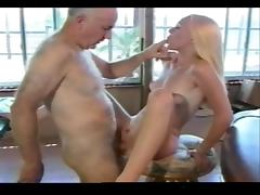 Dirty old man fuck nasty little Bitch! tube porn video