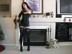 Tied up in gloves tube porn video