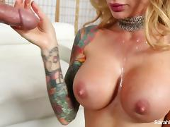 Sarah Jessie gives Brad a very special birthday surprise tube porn video