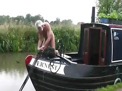 Canal boat tube porn video