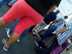 Pink jeans tube porn video