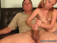 Jerking Uncle Joe - TeenTugs tube porn video