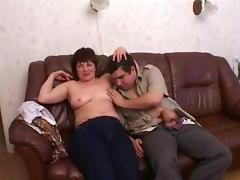 Russian mom Zeny with her boy 2 tube porn video