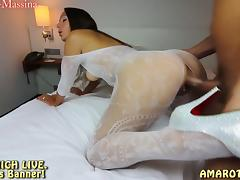 Annabel-Massina: User Treffen! Fick die Catsuit Diva tube porn video