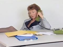 German Vintage New Secretary tube porn video