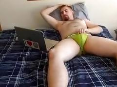 Str8 daddy jerking watching porn tube porn video
