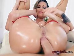 Horny Babe Jada Stevens Gets Her Bumhole Wrecked tube porn video