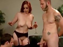 Mistress trainig a cuckold tube porn video
