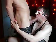 two good crossdresser tube porn video