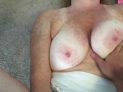 Pink panties doggystyle fuck accidental facial tube porn video