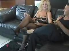Horny Amateur clip with Mature, Stockings scenes tube porn video