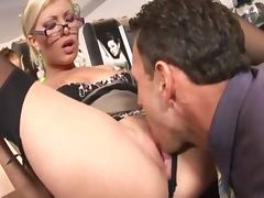 Caught with finger in pussy she gets fucked tube porn video