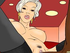 Good Interracial Cartoon Video tube porn video