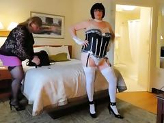 Crossdressers amber and kitt first web cam show tube porn video