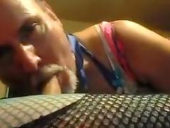bisexual crossdresser and djchrishou get freaky. tube porn video