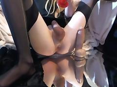 Crossdresser big cock tube porn video