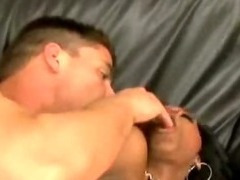 Ebony Slut Takes It Anal tube porn video