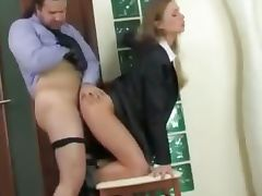 My Hot Secretary tube porn video