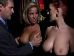 Horny italian milfs in hot threesome tube porn video