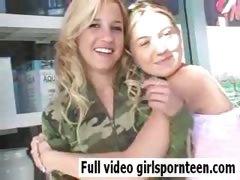 Beautiful girls cute blonde tube porn video