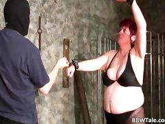 BDSM action game with BBW whore whose tube porn video