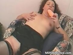 After big dildo pussy playing she tube porn video