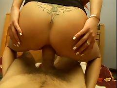 Hot redhead chick fucking tube porn video