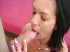Exotic mature fingering tube porn video