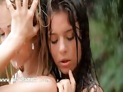 luxury girls in the rain tube porn video