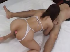 duo asians fucking anus and making blow tube porn video