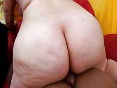 Asian BBW videos. Asian BBW mother is face fucked by a young guy